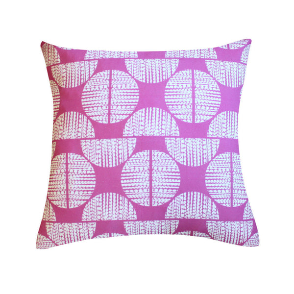 Moondance Orchid Pillow by Clairebella Studio