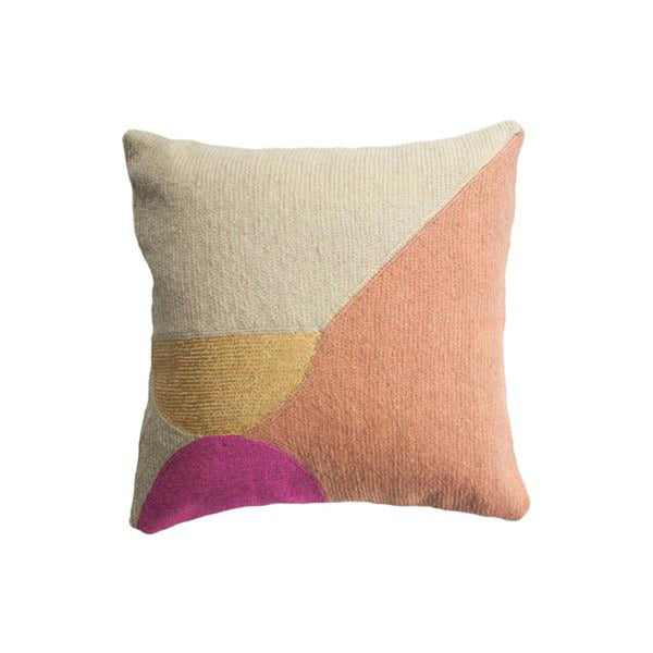 Nia Semi Circle Pillow by Leah Singh