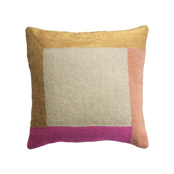 Nia Square Pillow by Leah Singh
