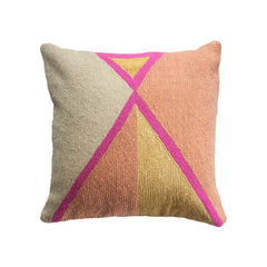 Nia Triangle Pillow by Leah Singh - Pillow - Leah Singh - Salut Home