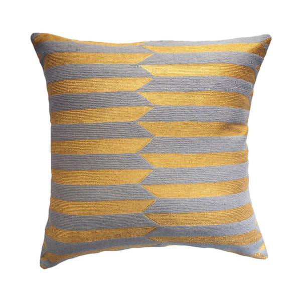 Nicole Circus Pillow by Leah Singh