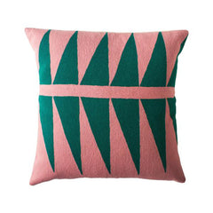 Palm Springs Emerald Pillow by Leah Singh - Pillow - Leah Singh - Salut Home