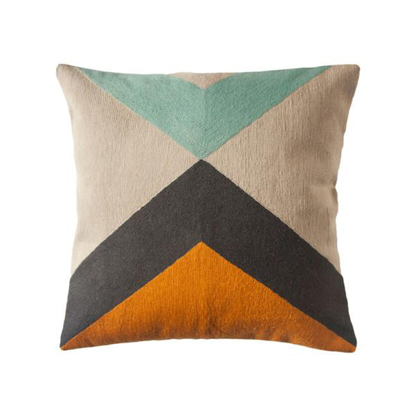 Phoenix Peak Pillow by Leah Singh