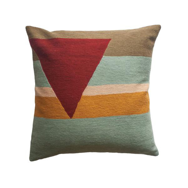 Renzo Stripes Pillow by Leah Singh