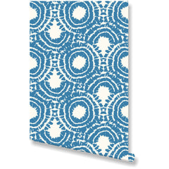 Rhapsody Blue Wallpaper by Clairebella Studio - Wallpaper - Clairebella Studio - Salut Home