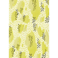 Shapes In The Clouds Chartreuse Gift Wrap by Wink Wink Paper Co - wrapping paper - Wink Wink - Salut Home