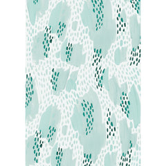 Shapes In The Clouds Teal Gift Wrap by Wink Wink Paper Co - wrapping paper - Wink Wink - Salut Home