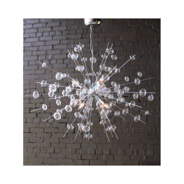 Bubbles Chandelier by Solaria Lighting