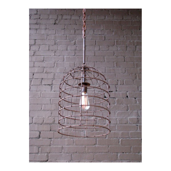 Belfor en Fer Pendant Light by Solaria Lighting