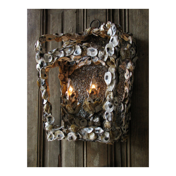 Oyster Lantern Sconce by Solaria Lighting