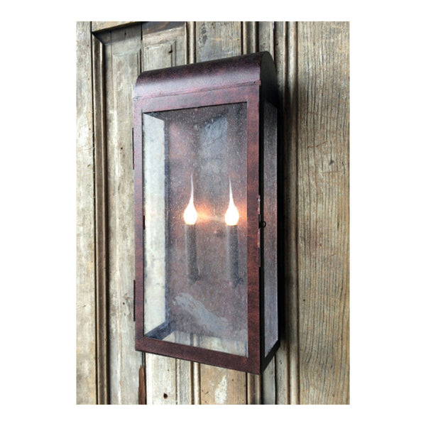 Kensington Exterior Wall Light Fixture Large by Solaria Lighting