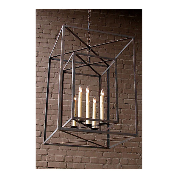Dos Cubos Lantern Large by Solaria Lighting