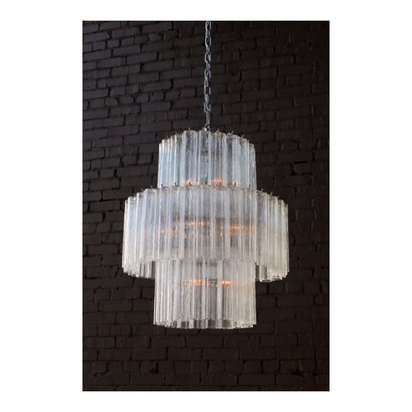 Torcello Chandelier Large by Solaria Lighting