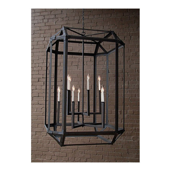 Hector Lantern Large by Solaria Lighting