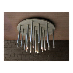 El Tubo Ceiling Light Fixture Round by Solaria Lighting - Flush Mount - Solaria Lighting - Salut Home