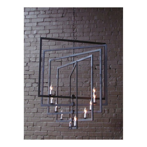 Marcel Chandelier Large by Solaria Lighting