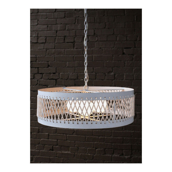 Chatham Drum Chandelier by Solaria Lighting