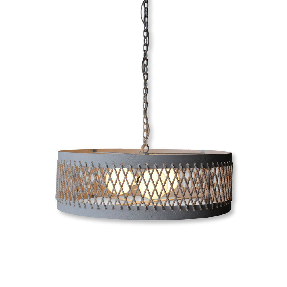 Ham Drum Chandelier Large By Solaria Lighting Salut Home