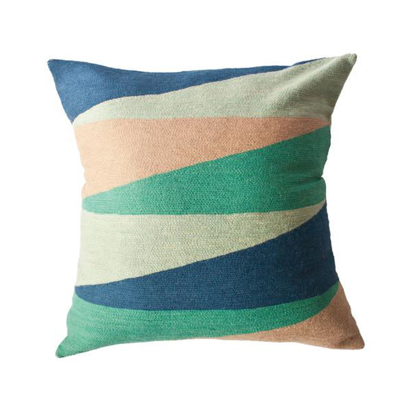 Zimbabwe Landscape Spring Pillow by Leah Singh