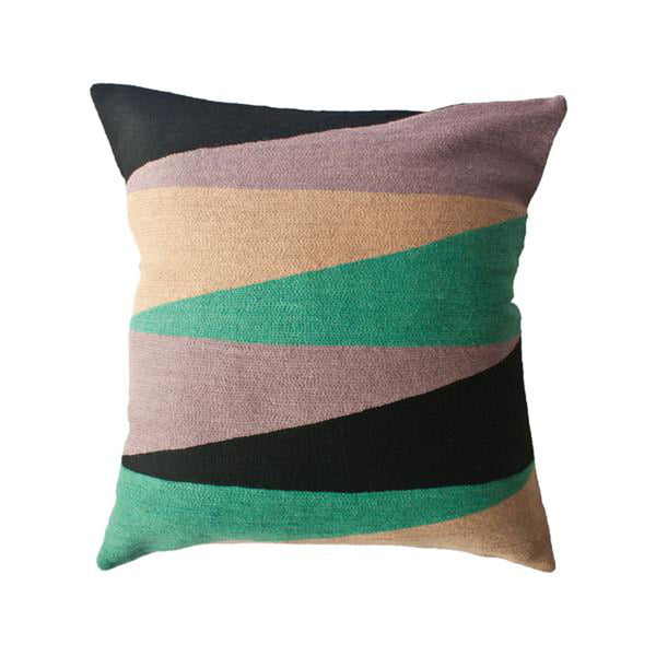 Zimbabwe Landscape Winter Pillow by Leah Singh