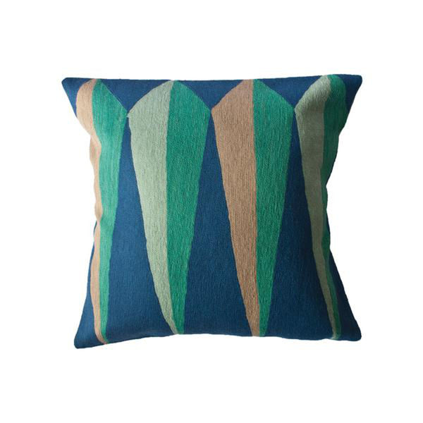Zimbabwe Root Spring Pillow by Leah Singh