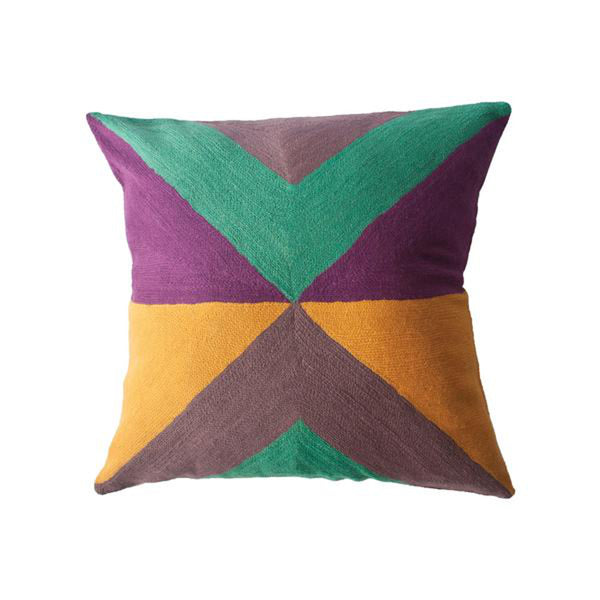 Zimbabwe West Summer Pillow by Leah Singh