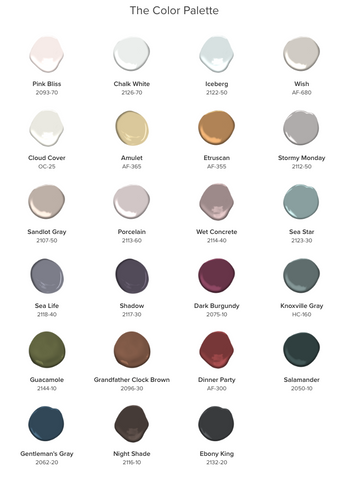 2017 Color Trends