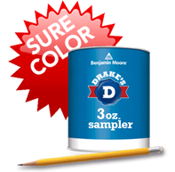 Benjamin Moore 3oz. Paint Sampler