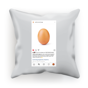 IG World Record Egg Sublimation Cushion Cover