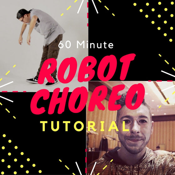 60 Minute Popping Robot Dance Choreography Tutorial