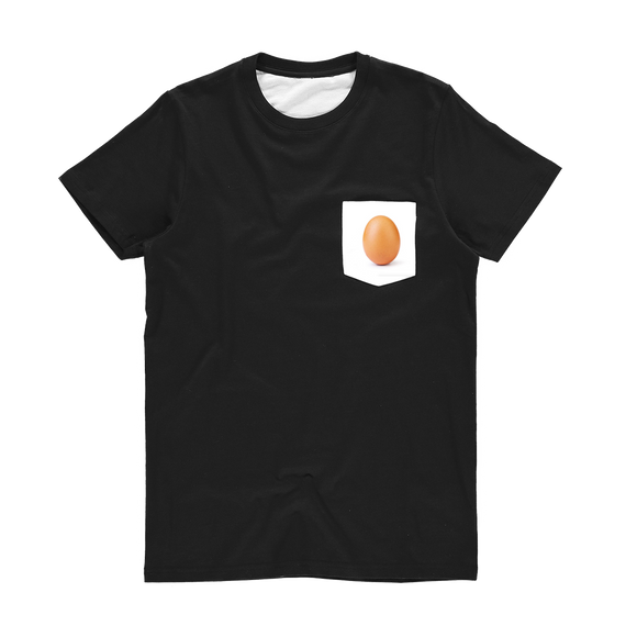 The Egg Classic Sublimation Pocket T-Shirt