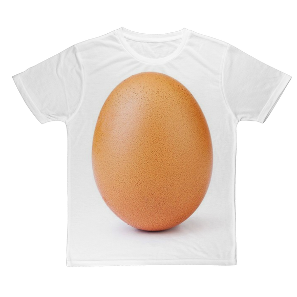 The Egg Classic Sublimation Adult T-Shirt