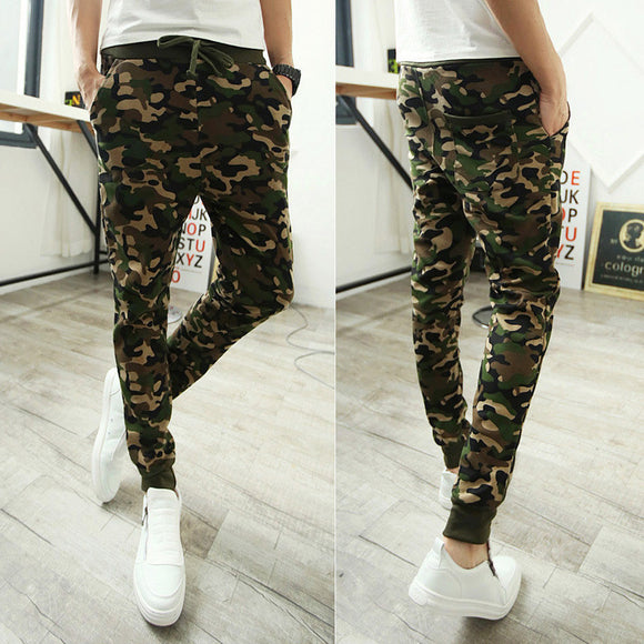 Camouflage Hip Hop Joggers