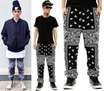 bandana hip hop pants