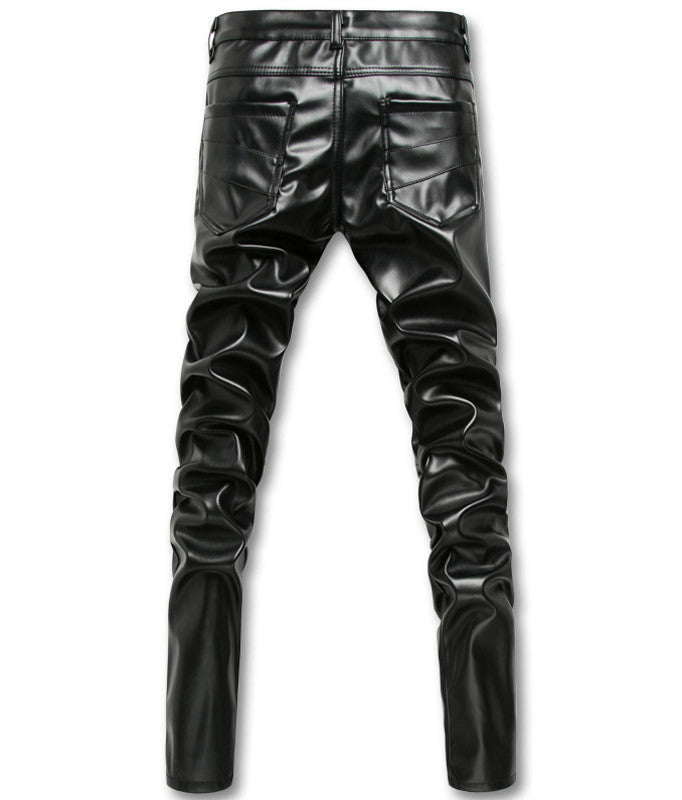 pleather dance pants