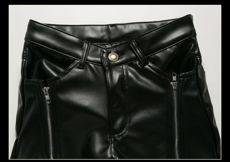 leather dance pants
