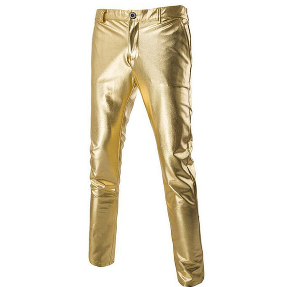 shiny gold pants