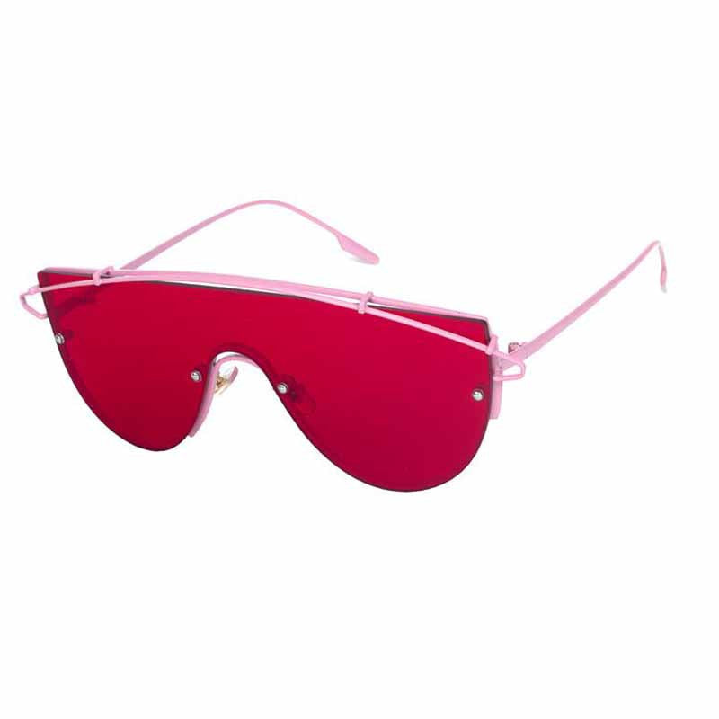 red robot glasses