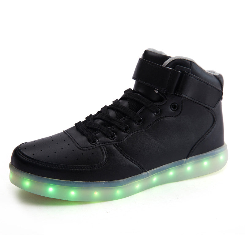 high top light up shoes