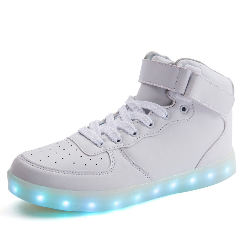 light up shoes high tops