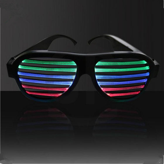light up equalizer glasses