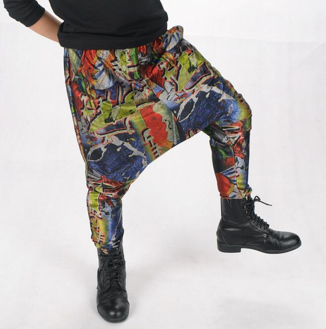 Crazy Graffiti Harem Pants