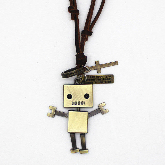 Robot Dancer Necklace