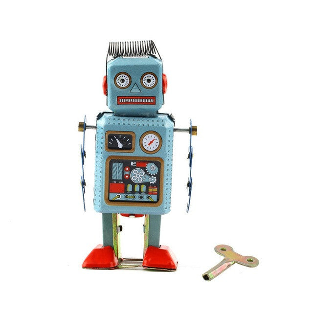 Wind Up Metal Robot