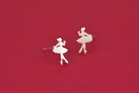 Tiny Ballet Earrings