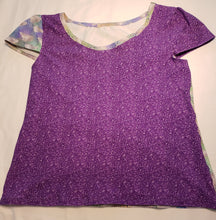 Load image into Gallery viewer, Purple Glitter Fabric (Preorder)