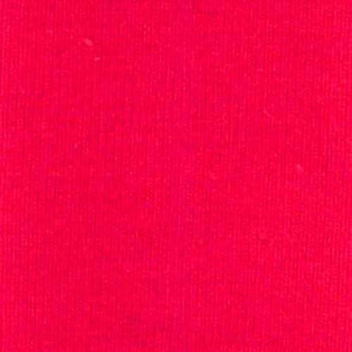 Bright Red Cotton Lycra