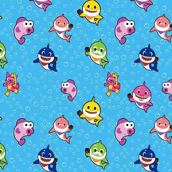 Baby Shark Fabric (Preorder)