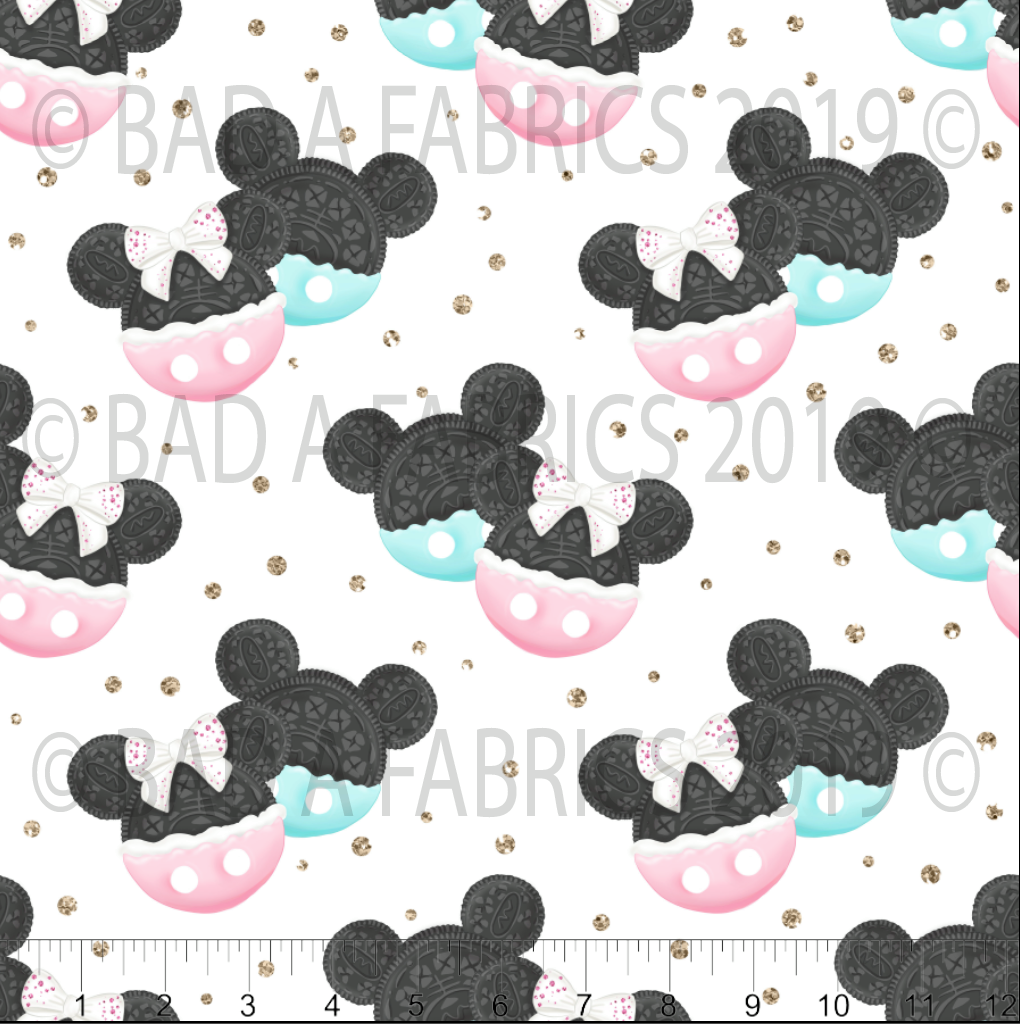 Disney Cookies Fabric (Preorder)