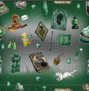 House of Slytherin Double Sided Minky (Retail)